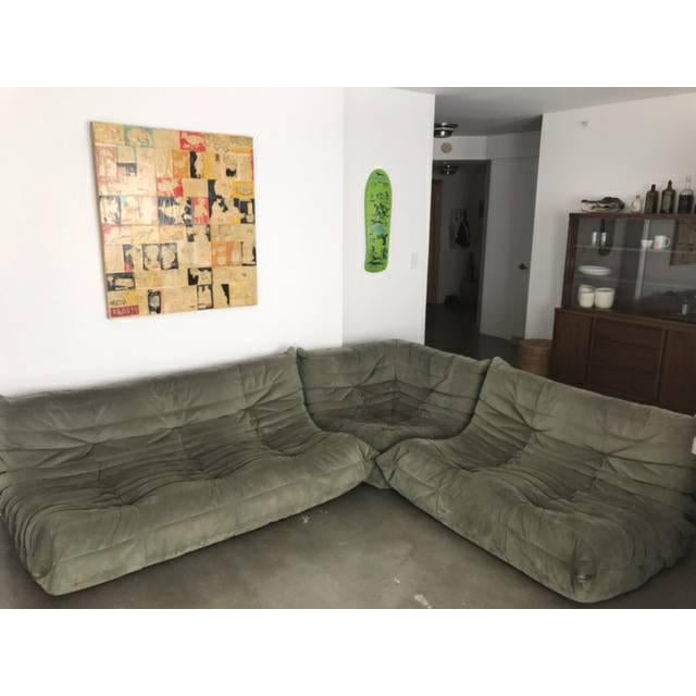 Mid-Century Modern Michel Ducaroy for Ligne Roset Togo Sectional Sofa For Sale - Image 3 of 4