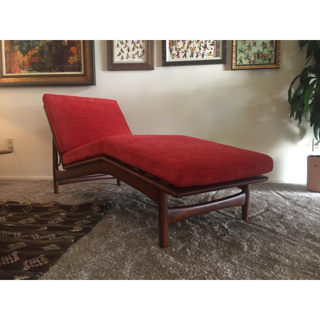 1960s Danish Modern Selig Adjustable Lounge Chair For Sale - Image 10 of 13