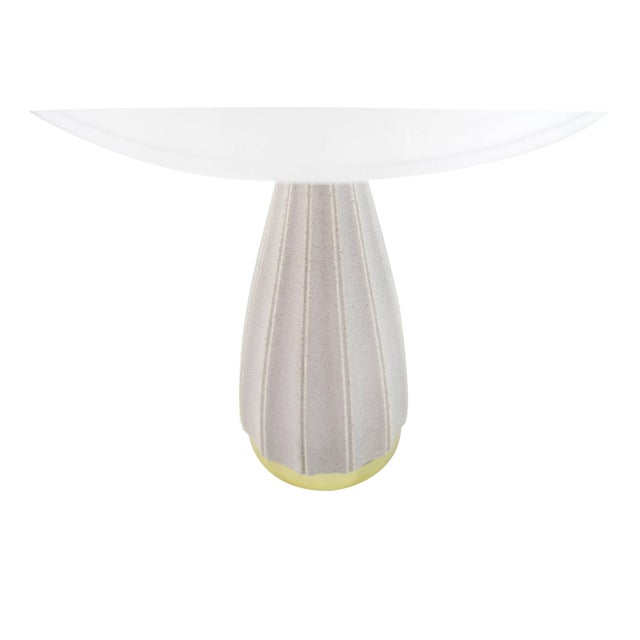 Metal Porcelain Table Lamp by Gerald Thurston for Lightolier, 1950s For Sale - Image 7 of 8