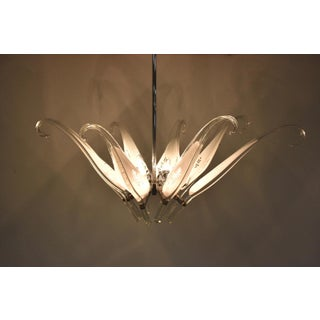 Franco Luce Fo Seguso Murano Blown Glass Chandelier Preview