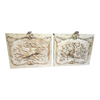 Pair of 19th Century Architectural Panels