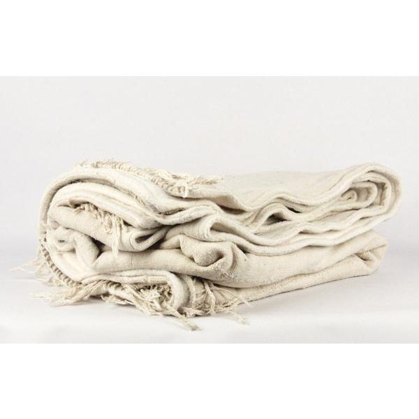 Nude Mud Cloth Throw Blanket - Image 6 of 6