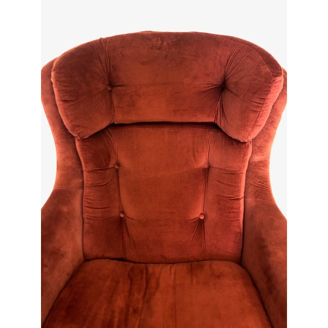 1970s Mid Century Modern Overman Egg Chair For Sale - Image 5 of 8