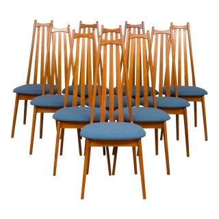 1960s Edmund Homa Chairs - Set of 10 For Sale
