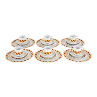 Georges Briard Carousel China, 24 Pieces - Set of 6