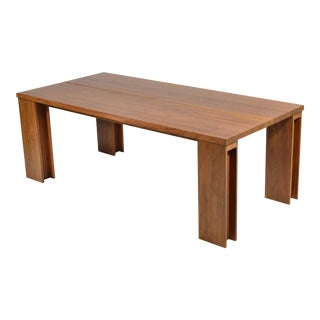 "De La Espada ""Long"" Table in Black Walnut For Sale"