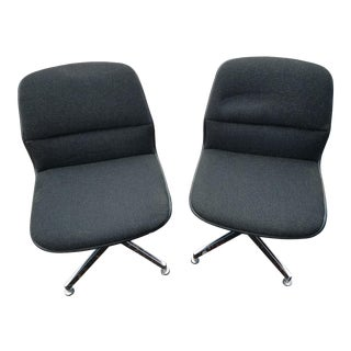 1970s Pollack Style Chairs by Allsteel-a Pair For Sale