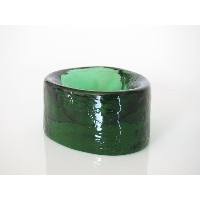 V. Nason & C. Emerald Murano Glass Paper Weight - Image 4 of 5