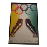 Image of 1972 Olympic Games Munich Original Poster by Allen Jones For Sale