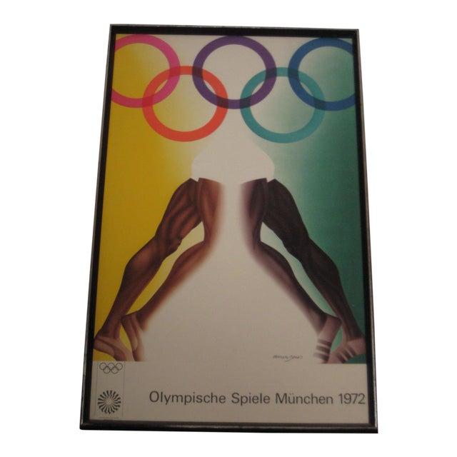 1972 Olympic Games Munich Original Poster by Allen Jones For Sale