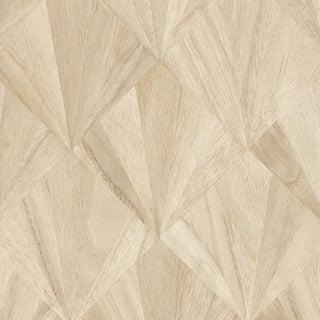 Maya Romanoff Ajiro Fanfare Wood Veneer Maple - Wood Veneer Wallcovering, 12 yds (11 m) For Sale