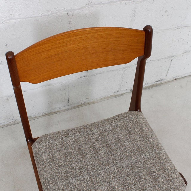 Danish Teak Dining Chairs - Set of 4 - Image 10 of 10