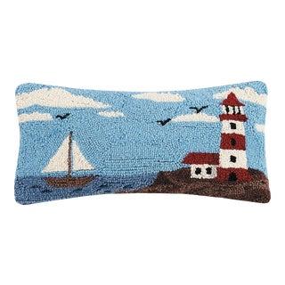 """Guiding Light Hook Pillow, 9"""" x 18"""" For Sale"""