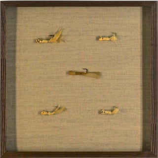 1950s Americana Framed Fishing Lures For Sale