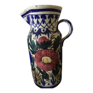 Vintage Large Pitcher Shape Jar For Sale