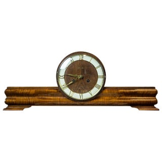 Art Deco Mantel Clock from the 1930s For Sale