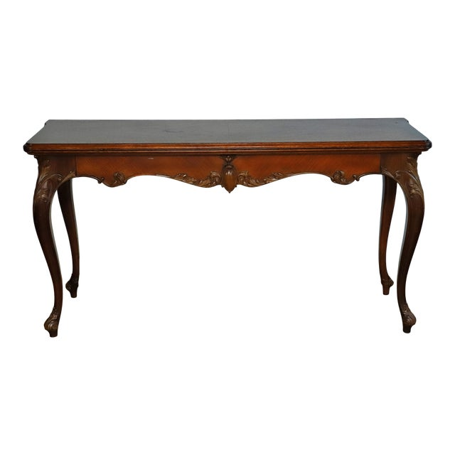 Early 20th Century Leonardo LIV-Dine Table From Waldorf Astoria For Sale