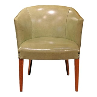 Mid-Century Pistachio Chair For Sale
