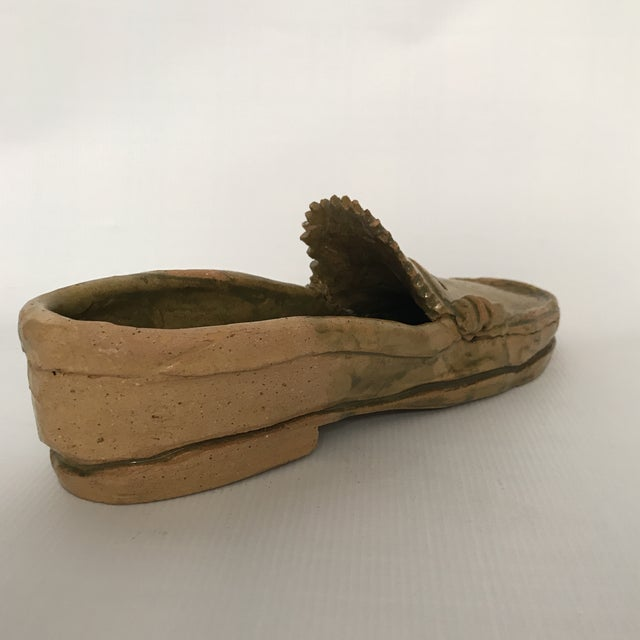 Pottery Loafer Sculpture For Sale In Charlotte - Image 6 of 11