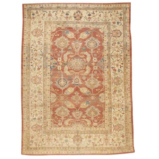 Exceptional Antique Sultanabad Carpet For Sale