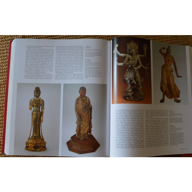 """""""The Art of East Asia"""" Hardcover Dust Jacket Book Koenemann Coffee Table Book Red Black For Sale - Image 10 of 11"""