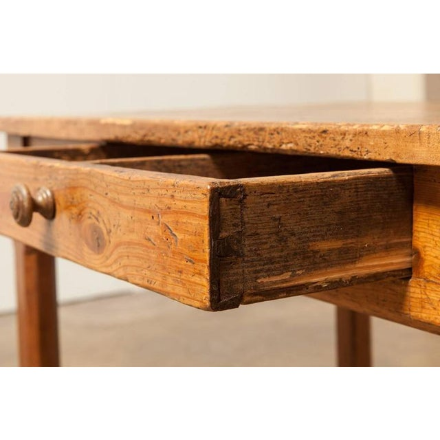19th Century French Farmhouse Kitchen Table & Leaves - Image 6 of 10
