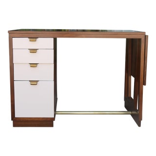 Edward Wormley Drop Leaf Desk For Sale