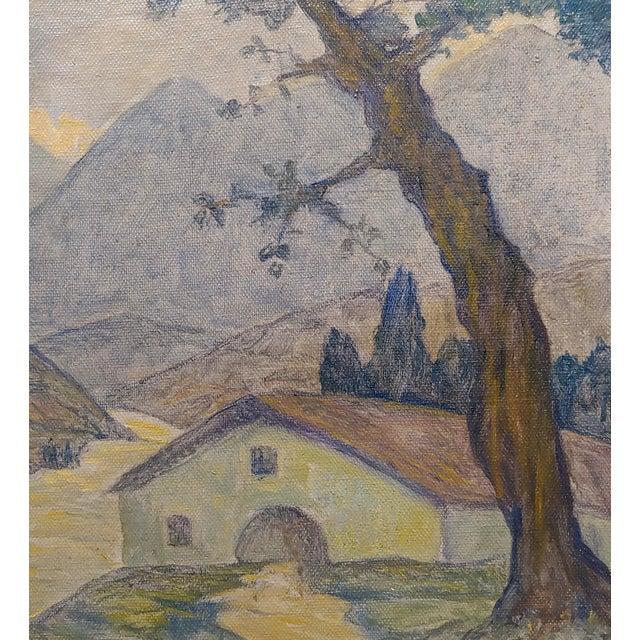 Valentin De Zubiaurre Jr -Spanish Basque Landscape -Oil Painting For Sale - Image 4 of 9