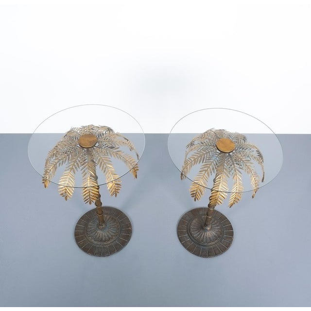 Iron Centre or Side Tables Style Maison Charles, Circa 1955 For Sale - Image 6 of 11