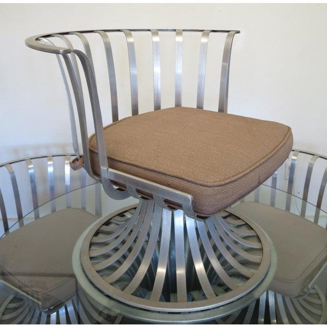Mid-Century Modern Russell Woodard Aluminum Patio Furniture - A Set - Image 6 of 9
