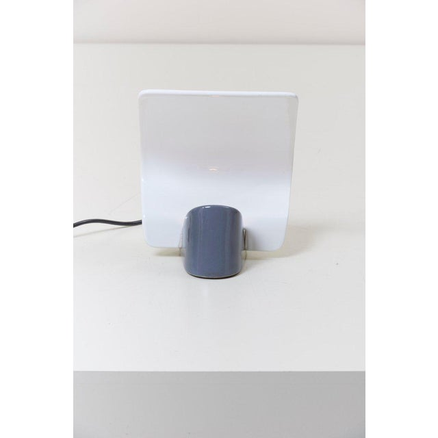 "Italian Ceramic Table Lamp ""Maia"" by Arturo Silva for Antonangeli, Italy For Sale - Image 3 of 10"