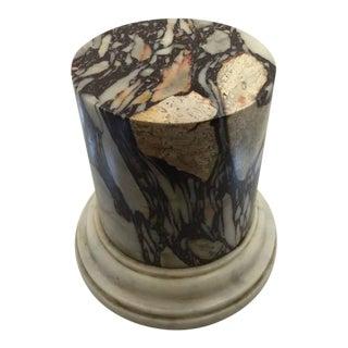 Breccia Marble Base