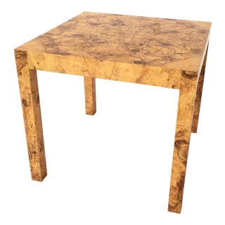 Vintage Burl Parsons Side Table