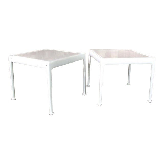 Pair Richard Schultz Side Tables for Knoll For Sale
