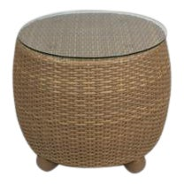 Hularo Synthetic Woven Side Table