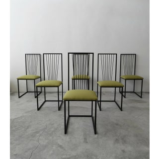 Set of 6 Postmodern Memphis Milano Minimalist Style Dining Chairs Preview
