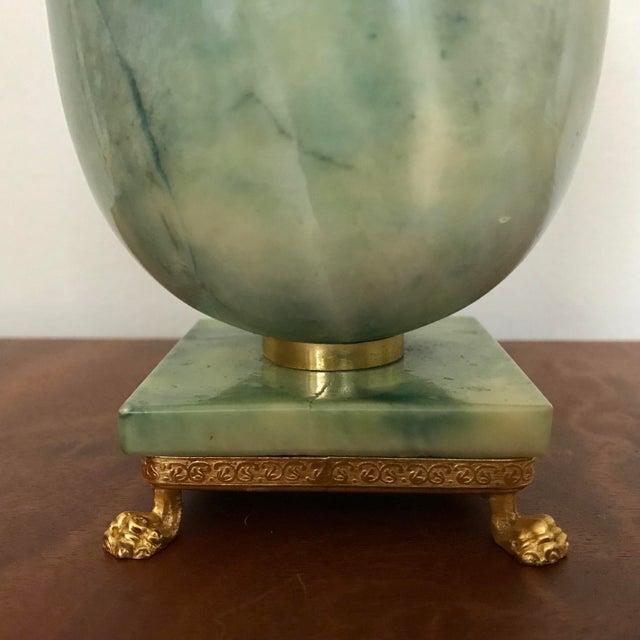 Hollywood Regency Italian Marble Egg Trinket Box For Sale - Image 3 of 6