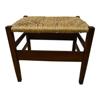 Antique Stickley Mission Oak Footstool