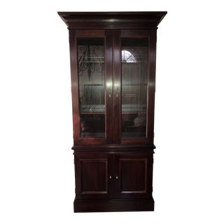 Milling Road/Baker Lighted Display Cabinet For Sale