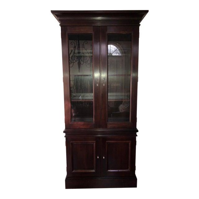 Milling Road/Baker Lighted Display Cabinet For Sale