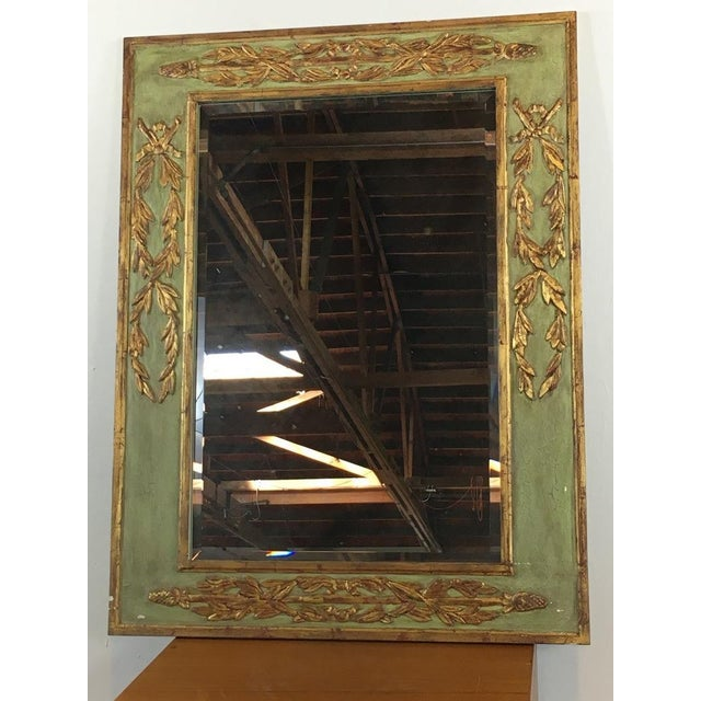 Green & Gold Framed Mirror - Image 2 of 5
