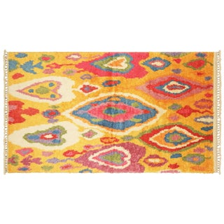 "Nalbandian - 1960s Turkish Tulu Rug - 4'11"" X 8'9"" For Sale"