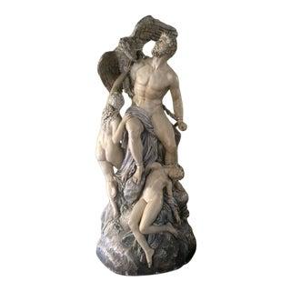Boston Chalk-ware Sculpture Circa 1887 For Sale