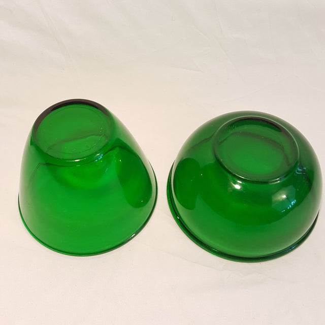 Pattern: Forest Green Color: Forest Green Manufacturer: Anchor Hocking Date Produced: 1934-1965 Shape: Bowl Bowl 1-...