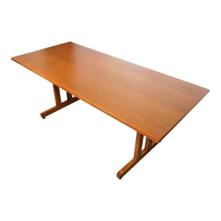 Danish Modern Hans J. Wegner Shaker Dining Table For Sale