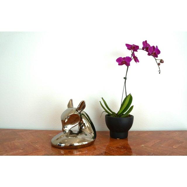 Vintage Jaru Silver Deer Statue - Image 7 of 8