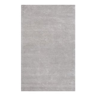 """Edgy Hand Tufted Bamboo Silk & Wool Rug- 8'9"""" x 11'9"""" For Sale"""