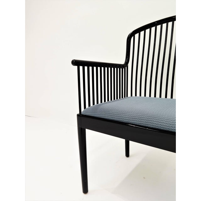 "Black Set of 14 Vintage Davis Allen ""Andover"" Chairs for Stendig For Sale - Image 8 of 11"
