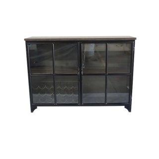 Contemporary Odila Glass Door Cabinet