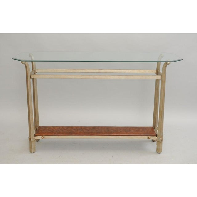 Decorator Metal & Glass 48\